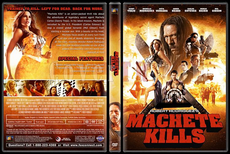 Machete Kills (Ustura Dönüyor) - Custom Dvd Cover - English [2013]-machete-kills-ustura-donuyor-dvd-cover-english-izlemejpg