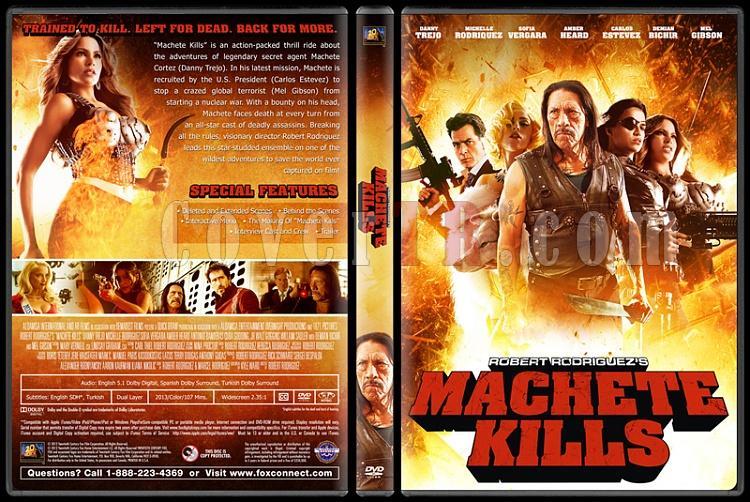 Machete Kills (Ustura Dönüyor) - Custom Dvd Cover - English [2013]-machete-kills-ustura-donuyor-dvd-cover-english-v2-izlemejpg