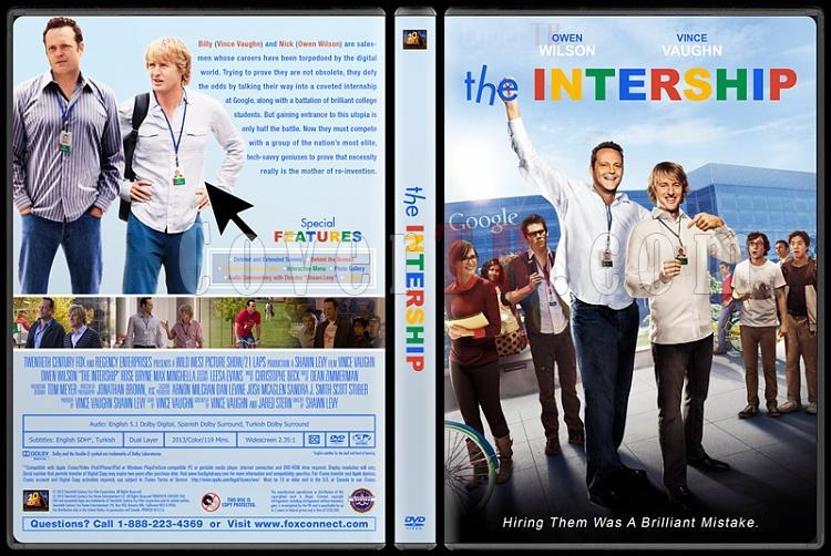 The Intership (Genç Çıraklar) - Custom Dvd Cover - English [2013]-engjpg