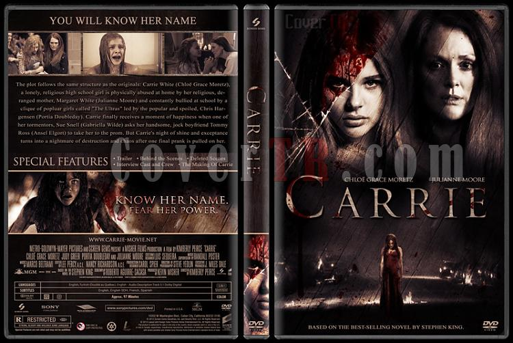 Carrie (Günah Tohumu) - Custom Dvd Cover - English [2013]-eng-v2jpg