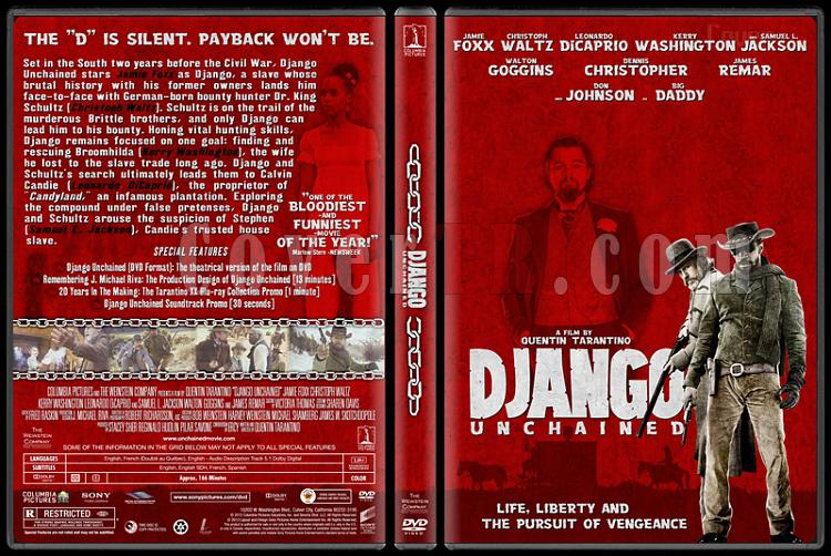 Django Unchained - Custom Dvd Cover - English [2012]-django-unchained-custom-dvd-coverjpg