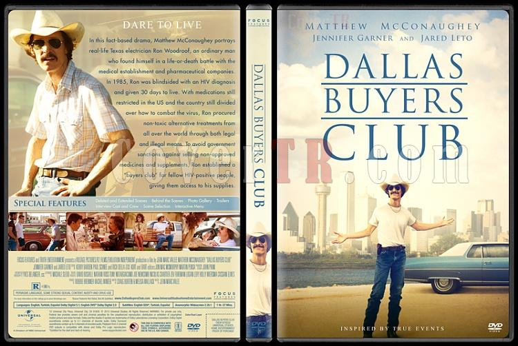 Dallas Buyers Club  - Custom Dvd Cover - English [2013]-standardjpg
