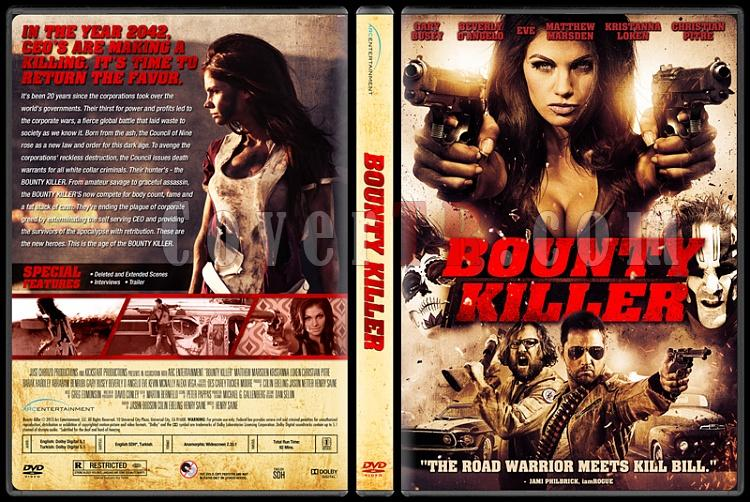 Bounty Killer (Ödül Avcısı) - Custom Dvd Cover - English [2013]-bounty-killer-dvd-cover-english-riddick-izlemejpg