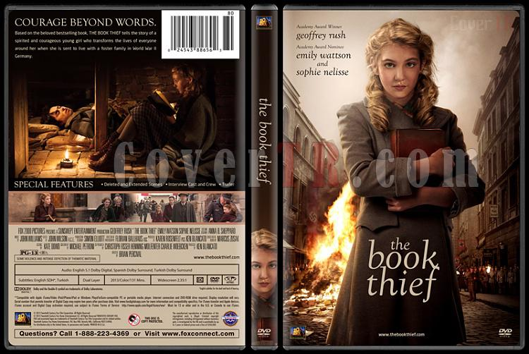 The Book Thief (Kitap Hırsızı) - Custom Dvd Cover - English [2013]-engjpg