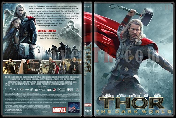 Thor The Dark World - Custom Dvd Cover - English [2013]-v1jpg