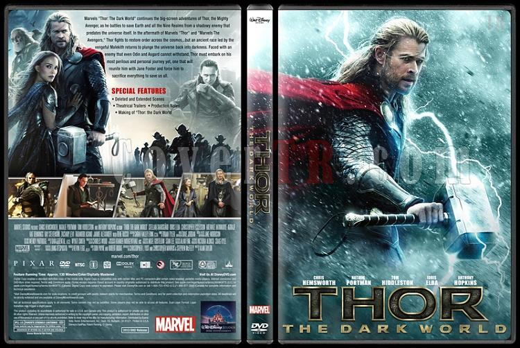 Thor The Dark World - Custom Dvd Cover - English [2013]-v2jpg