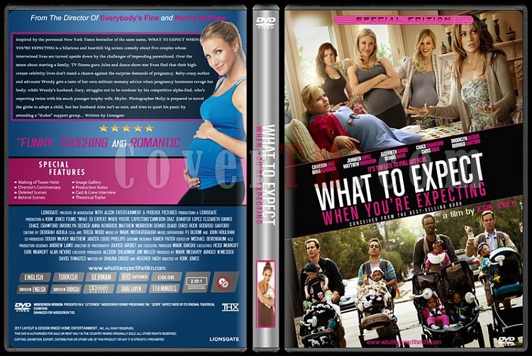 What To Expect When You're Expecting (Dikkat Bebek Var) - Custom Dvd Cover - English [2012]-what-expect-when-youre-expectingjpg