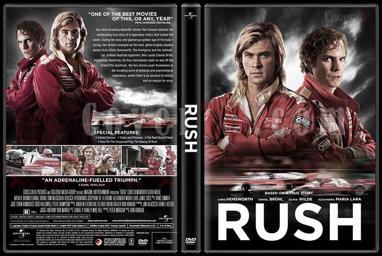 Rush - Custom Dvd Cover - English [2013]-rush-v1jpg