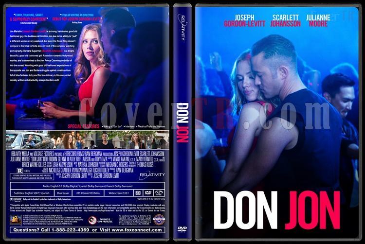 Don Jon  - Custom Dvd Cover - English [2013]-donjpg