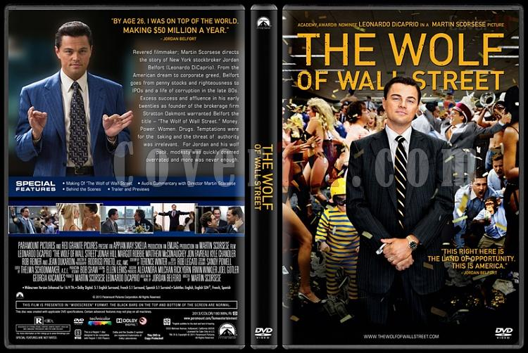 The Wolf of Wall Street - Custom Dvd Cover - English [2013]-colorjpg