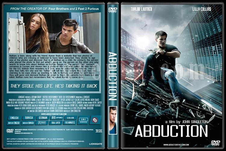 Abduction (Kaçış) - Custom Dvd Cover - English [2011]-abductionjpg