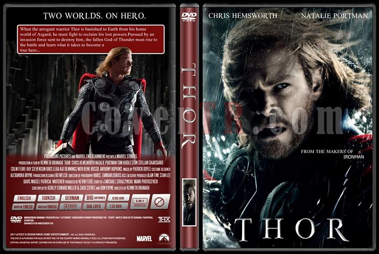 Thor - Custom Dvd Cover - English [2011]-thorjpg