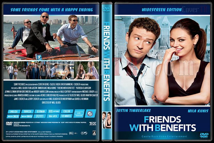 Friend With Benefits (Arkadaştan Öte) - Custom Dvd Cover - English [2011]-friend-benefitsjpg