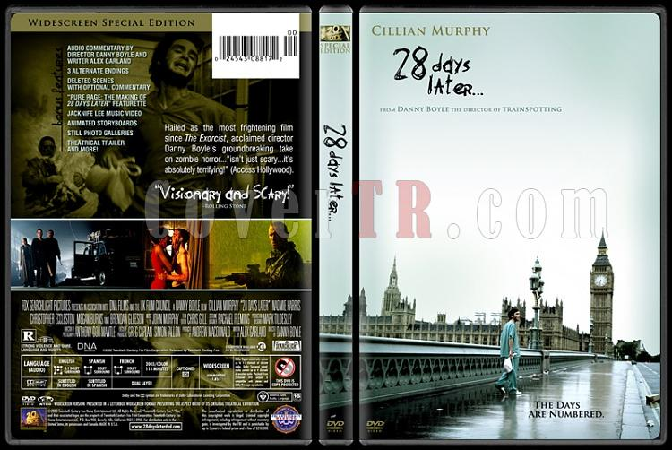 28 Days Later... - Custom Dvd Cover - English [2002]-28-days-later-dvdjpg