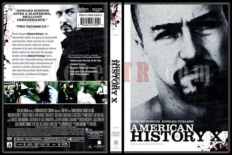 American History X - Custom Dvd Cover - English [1998]-american-history-xjpg