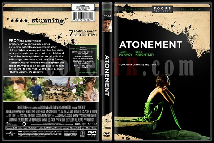Atonement - Custom Dvd Cover - English [2007]-atonement-dvdjpg