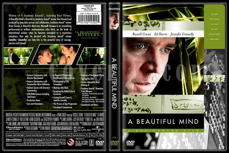 A Beautiful Mind - Custom Dvd Cover - English [2001]-beautiful-mindjpg