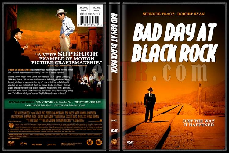Bad Day At Black Rock - Custom Dvd Cover - English [1955]-bad-day-black-rockjpg