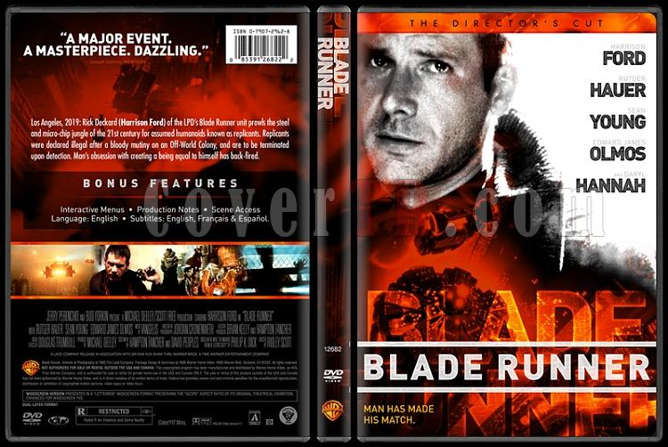 Blade Runner - Custom Dvd Cover - English [1982]-blade-runnerjpg