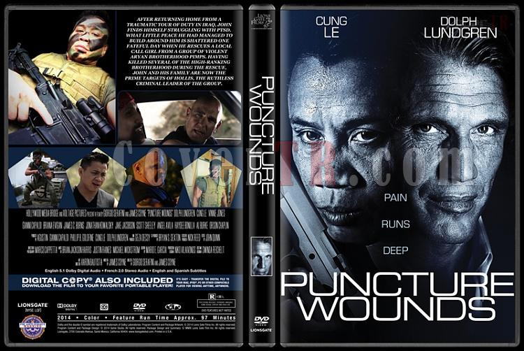 Puncture Wounds - Custom Dvd Cover - English [2014]-puncture-woundspjpg