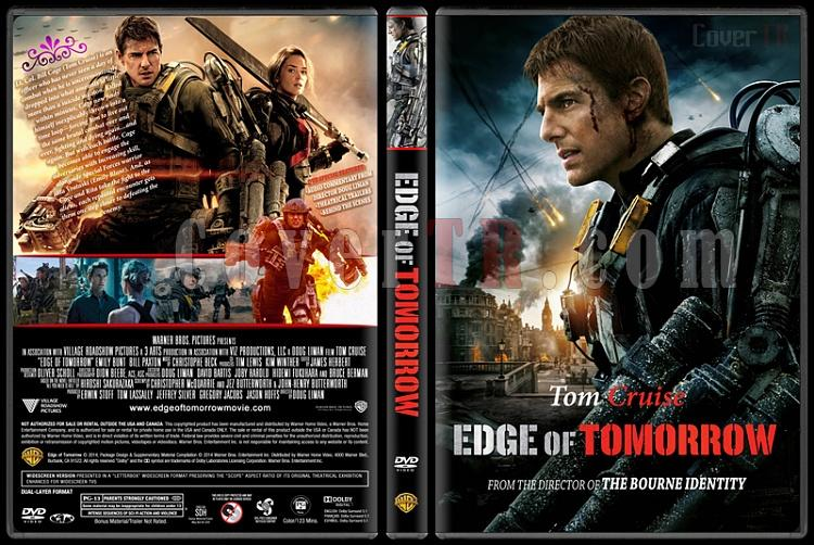 Edge of Tomorrow - Custom Dvd Cover - English [2014]-edge-tomorrowjpg