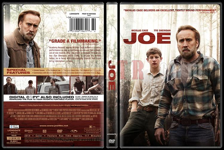 Joe - Custom Dvd Cover - English [2014]-joejpg