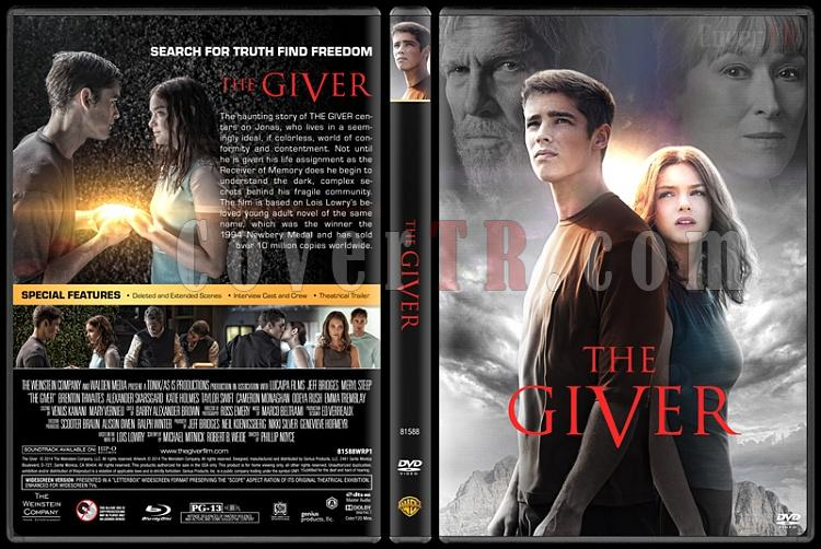 The Giver - Custom Dvd Cover - English [2014]-covertr-dvdjpg