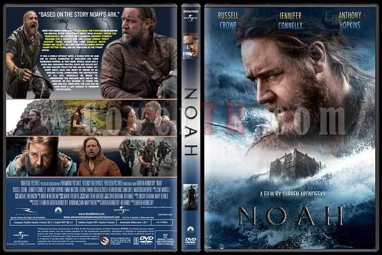 Noah (Nuh: Büyük Tufan) - Custom Dvd Cover - English [2014]-standardjpg