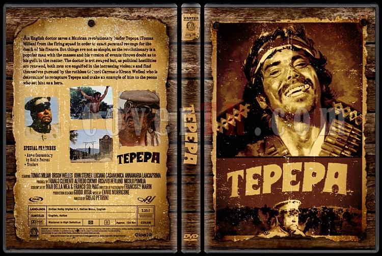 Tepepa - Custom Dvd Cover - English [1969]-tepepajpg