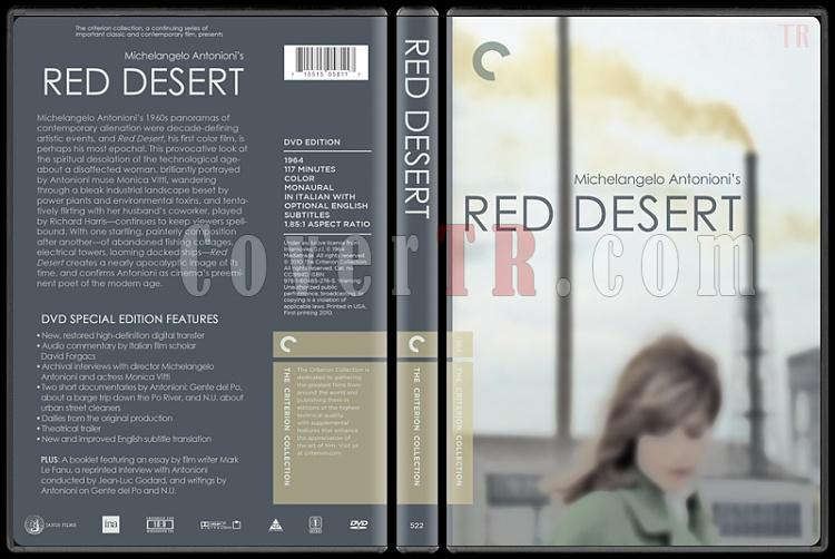 Red Desert (Kızıl Çöl) - Custom Dvd Cover - English [1964]-red_desertjpg