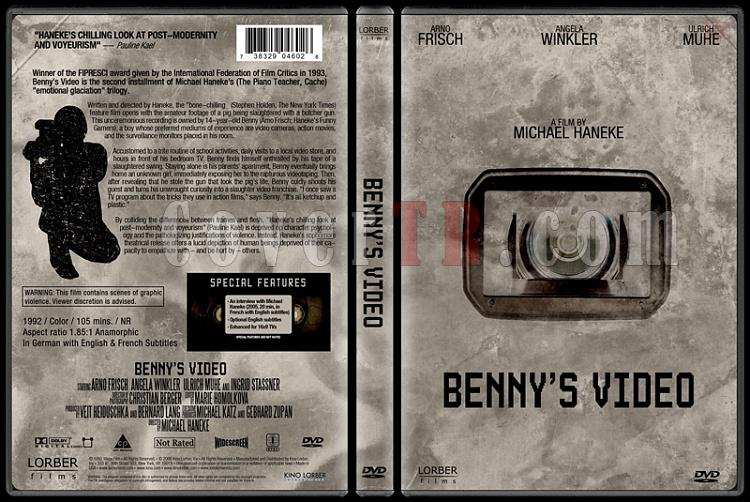 Benny's Video (Benny'nin Videosu) - Custom Dvd Cover - English [1992]-benny_s_videojpg