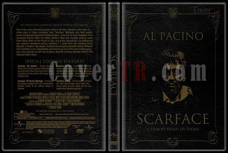 Scarface (Yaralı Yüz) - Custom Dvd Cover - English [1983]-scarfacejpg