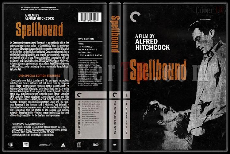 Spellbound (Öldüren Hatıralar) - Custom Dvd Cover - English [1945]-spellboundjpg