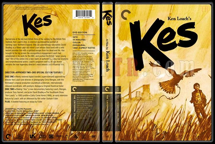 Kes (Kerkenez) - Custom Dvd Cover - English [1969]-kesjpg