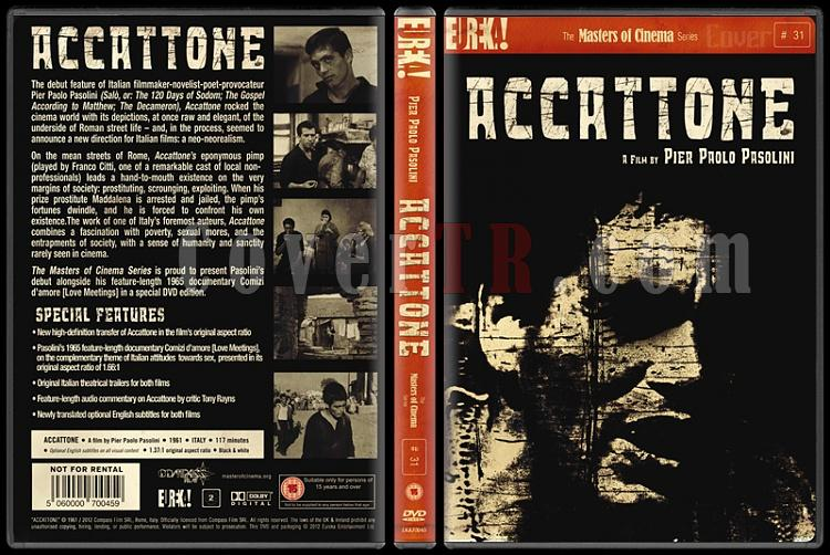 Accattone (Dilenci) - Custom Dvd Cover - English [1961]-accattonejpg