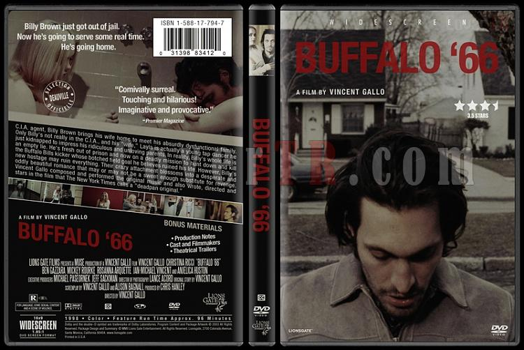 Buffalo '66 - Custom Dvd Cover - English [1998]-buffalo__66jpg