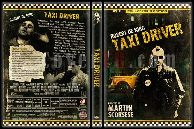 Taxi Driver (Taksi Şoförü) - Custom Dvd Cover - English [1976]-taxi_driver0jpg