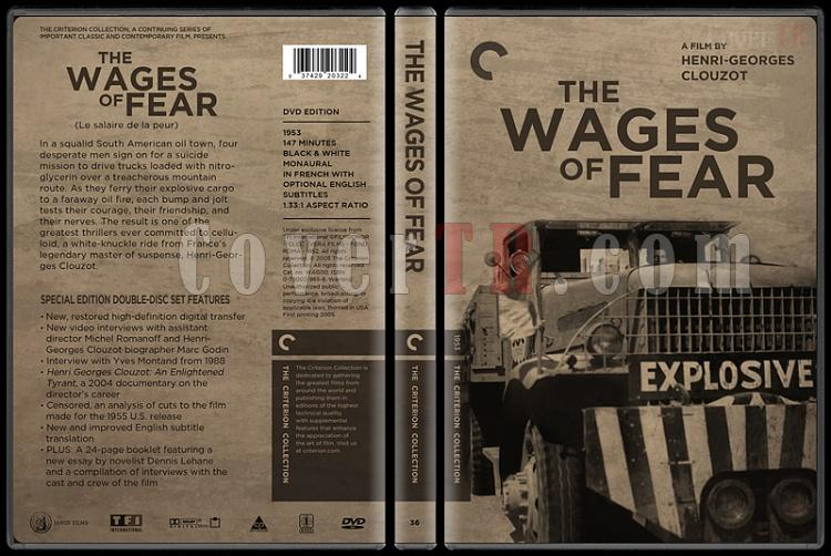 The Wages of Fear (Dehşet Yolcuları) - Custom Dvd Cover - English [1953]-the_wages_of_fear0jpg