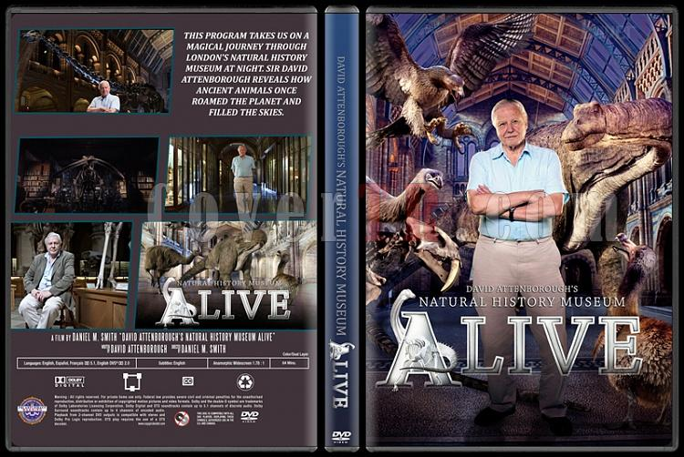 David Attenborough's Natural History Museum Alive - Custom Dvd Cover - English [2014]-standardjpg