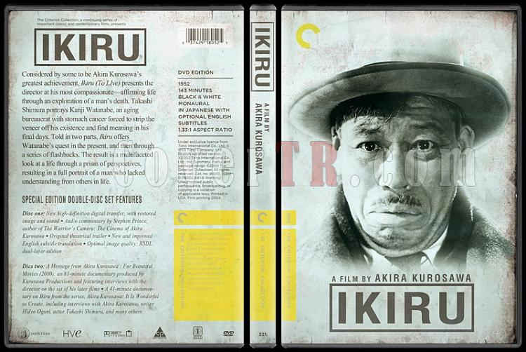 Ikiru (Yaşamak) - Custom Dvd Cover - English [1952]-ikiru_2jpg