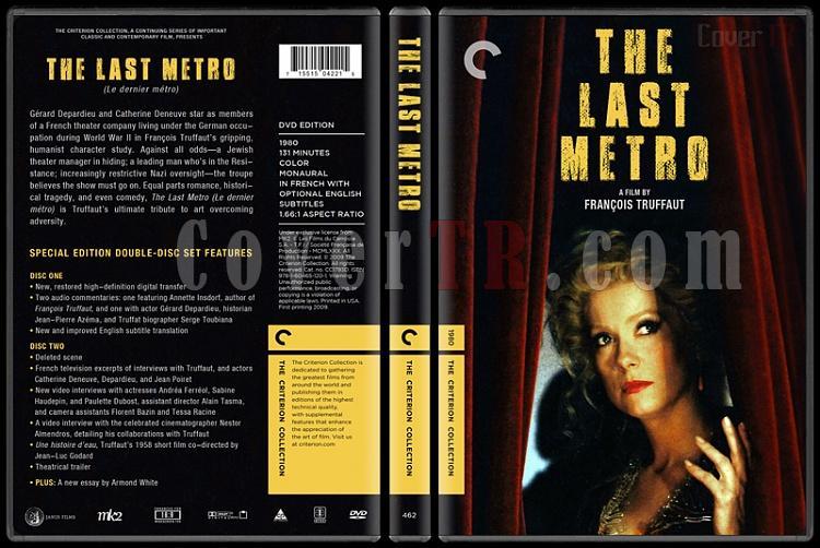 The Last Metro (Son Metro) - Custom Dvd Cover - English [1980]-the_last_metrojpg
