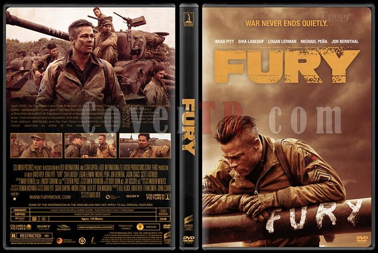 Fury (Hiddet) - Custom Dvd Cover - English [2014]-fury-previewjpg