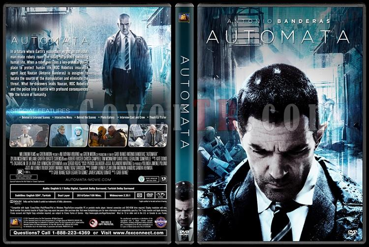 Automata - Custom Dvd Cover - English [2014]-automata-previewjpg