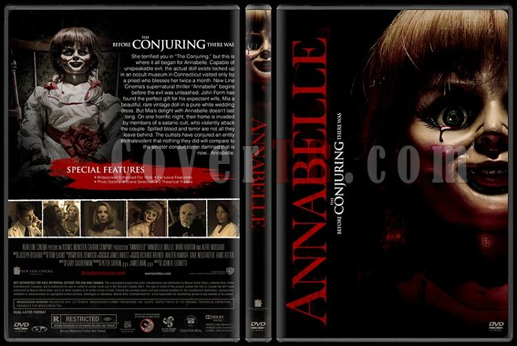 Annabelle - Custom Dvd Cover - English [2014]-covertr-dvdjpg