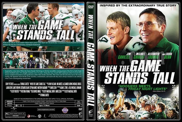 When the Game Stands Tall - Custom Dvd Cover - English [2014]-standardjpg