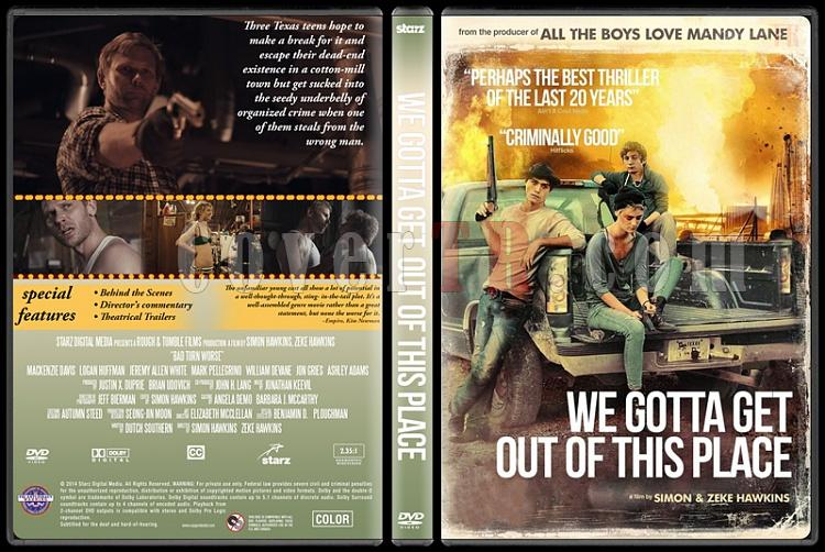 We Gotta Get Out of This Place - Custom Dvd Cover - English-standardjpg