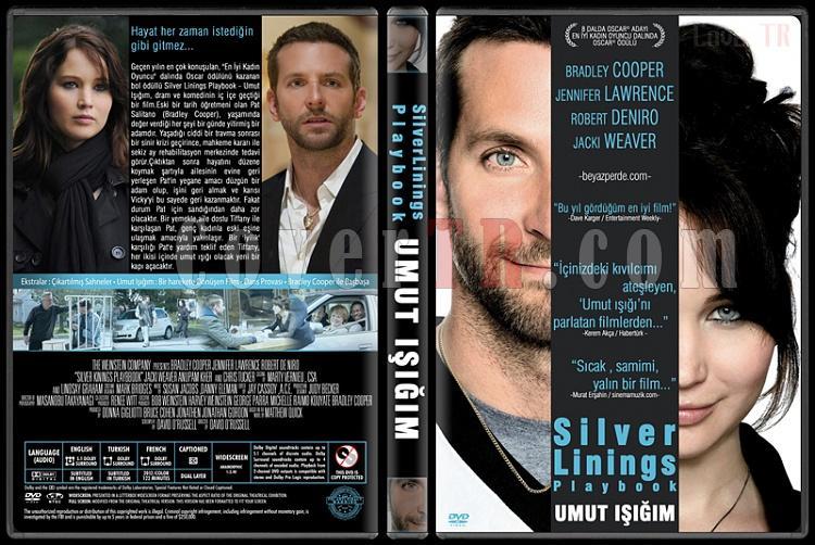Silver Linings Playbook (Umut Işığım) - Custom Dvd Cover - Türkçe [2012]-covertr-dvdjpg