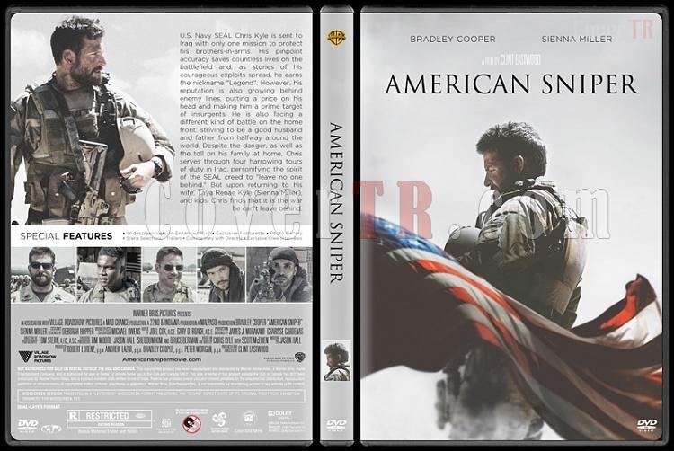 American Sniper (Keskin Nişancı) - Custom Dvd Cover - English [2015]-american-sniperjpg