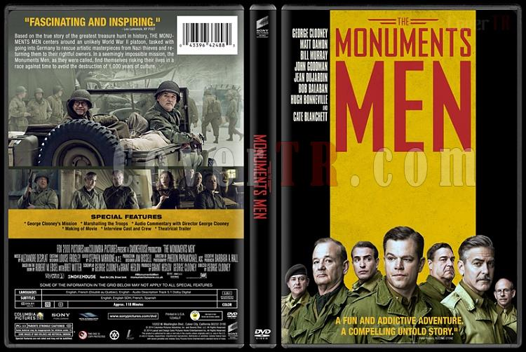 The Monuments Men - Custom Dvd Cover - English [2014]-monuments-men-v2jpg