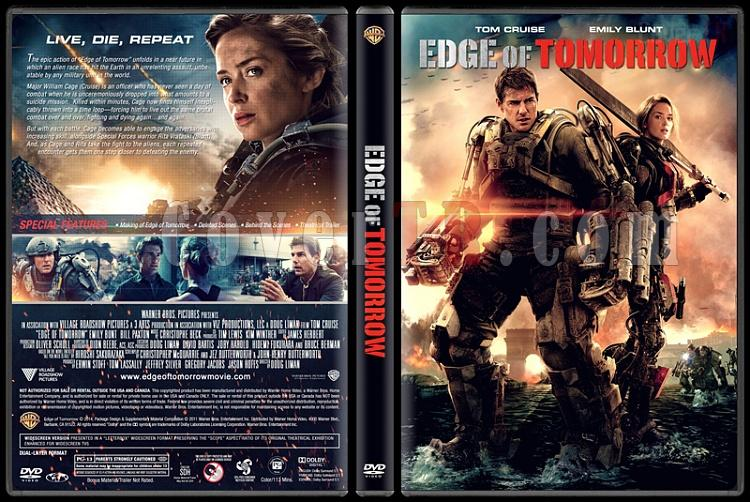Edge of Tomorrow - Custom Dvd Cover - English [2014]-edge-tomorrow-2jpg